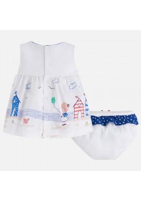 Vestido MAYORAL bebe niña cenefa