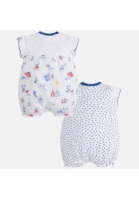 Set 2 pijamas cortos MAYORAL bebe niña