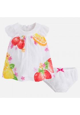 Vestido MAYORAL bebe niña estampado plumeti