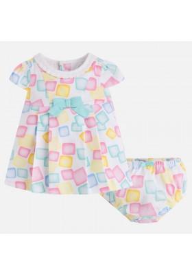 Vestido MAYORAL bebe niña pique estampado