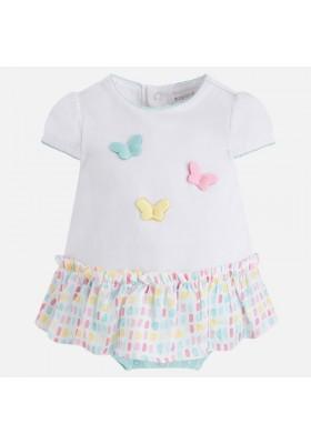Pelele MAYORAL bebe niña falda combinado