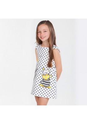Vestido MAYORAL  niña aplicaciones