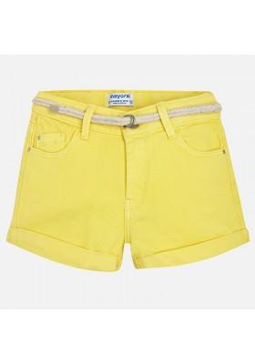 Short sarga MAYORAL  niña basico amarillo
