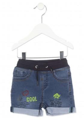 Pantalón corto denim LOSAN bebe niño