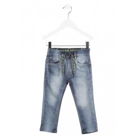 Pantalón largo LOSAN para niño elastico tejano