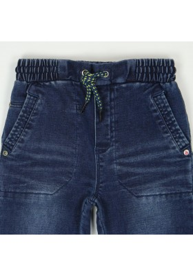 Pantalón denim punto elástico de niño BOBOLI