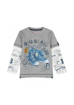 Camiseta punto liso de niño BOBOLI