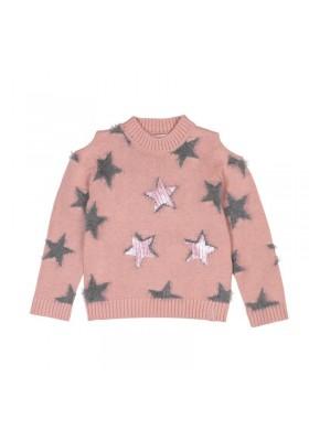 Jersey tricotosa de niña BOBOLI