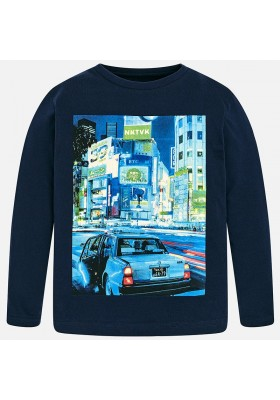 "Camiseta manga larga ""oriental city"" MAYORAL niño"