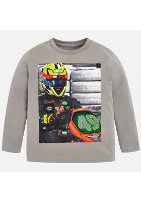 "Camiseta manga larga ""driver"" MAYORAL niño"