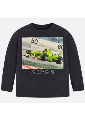 Camiseta manga larga coche MAYORAL niño