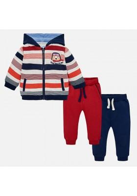 Chandal rayas 2 pantalones MAYORAL bebe niño