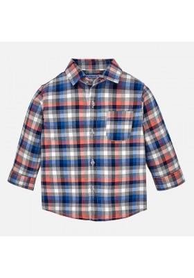 Camisa manga larga cuadros MAYORAL bebe niño