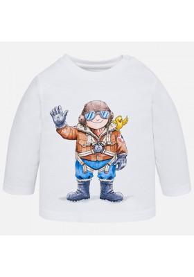Camiseta manga larga piloto MAYORAL bebe niño