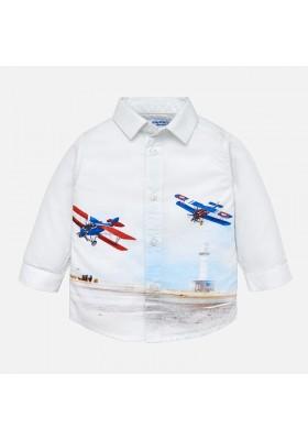 Camisa manga larga print posicionado MAYORAL bebe niño