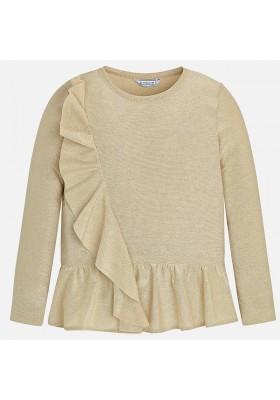 Camiseta manga larga lurex MAYORAL niña