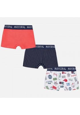 Set 3 boxer raya/estampado/li MAYORAL niño