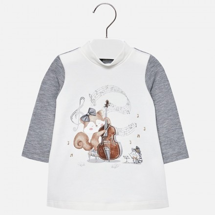 Vestido ardilla MAYORAL bebe niña