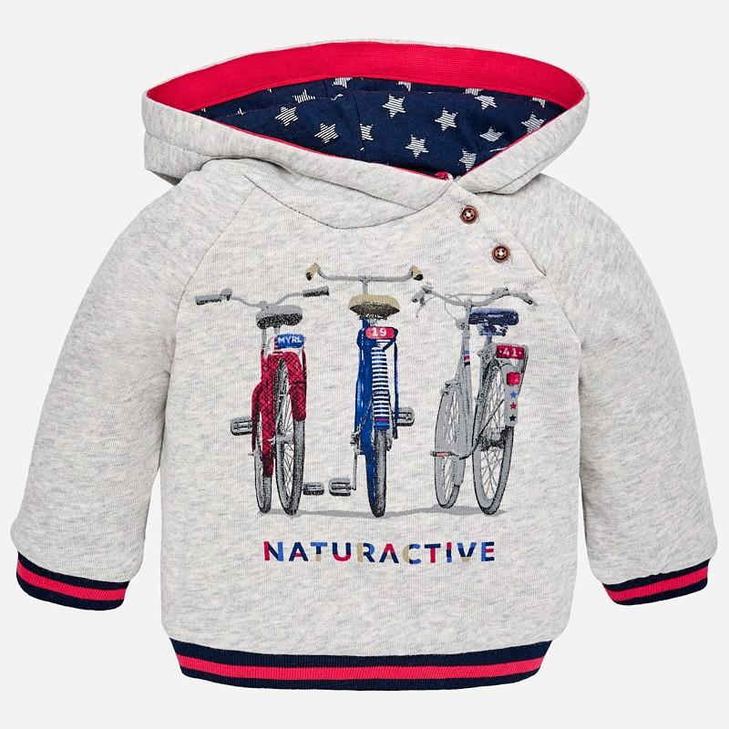 d0639aa05 Pullover con capucha Mayoral bebe niño. Loading zoom