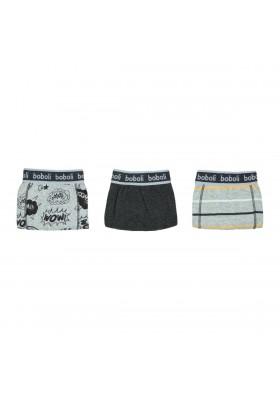 Pack 3 boxers de niño BOBOLI