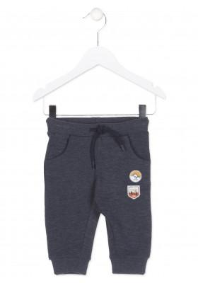 Pantalón de felpa LOSAN para bebé niño con parches