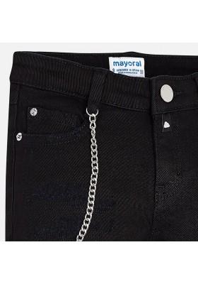 Pantalón largo sarga cadena Mayoral niña