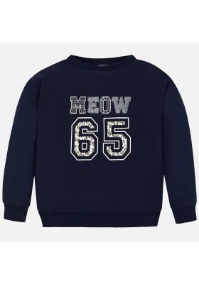 """Pullover """"meow"""" combinado Mayoral niña"""