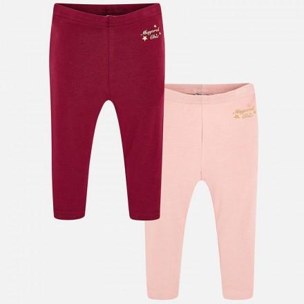Set 2 leggings basicos Mayoral bebe niña