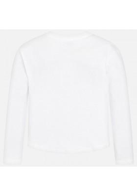 Camiseta manga larga chica letras MAYORAL niña