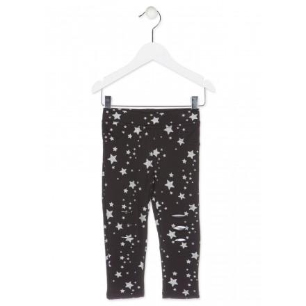 Leggins de felpa LOSAN con estrellas estampadas para niña