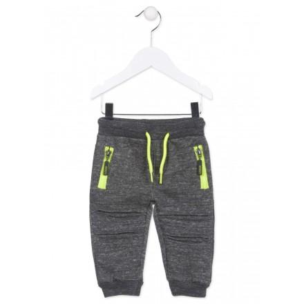 Pantalón de felpa LOSAN con bolsillos con cremalleras para bebé niño