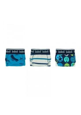 Pack 3 calzoncillos de niño BOBOLI
