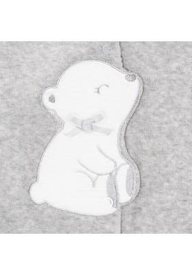 Pijama tundosado aplique Mayoral bebe niña