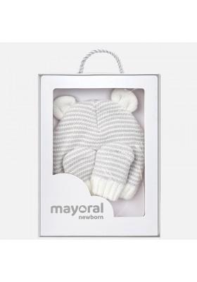 Gorro tricot cara y manopla Mayoral bebe niño