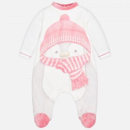 Pijama tundosado pingüino Mayoral bebe niño