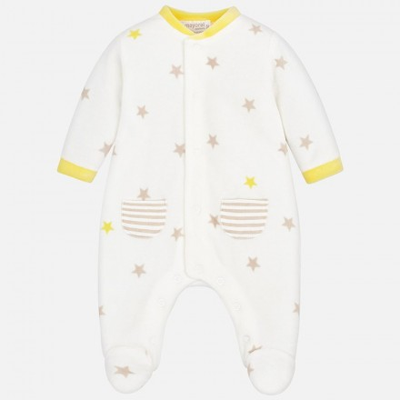 Pijama tundosado estampado Mayoral bebe niño