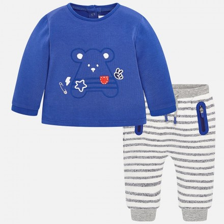 Conjunto pantalon largo Mayoral bebe niño