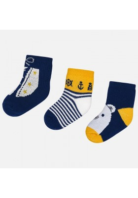 Set 3 calcetines fantasia Mayoral bebe niño