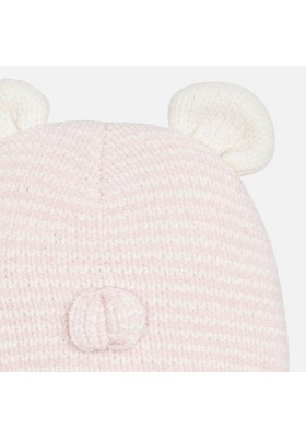 Gorro tricot cara y manopla Mayoral bebe niña