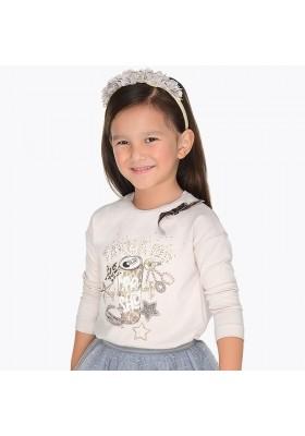 Camiseta manga larga serigrafia lata MAYORAL  niña