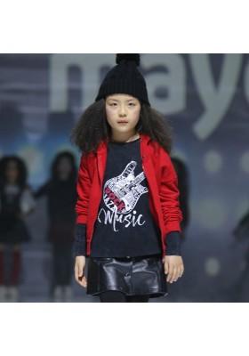 Camiseta manga larga guitarra MAYORAL  niña