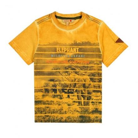 Camiseta manga corta punto liso de niño BOBOLI