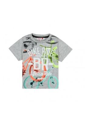 Camiseta manga corta punto liso de bebé niño BOBOLI