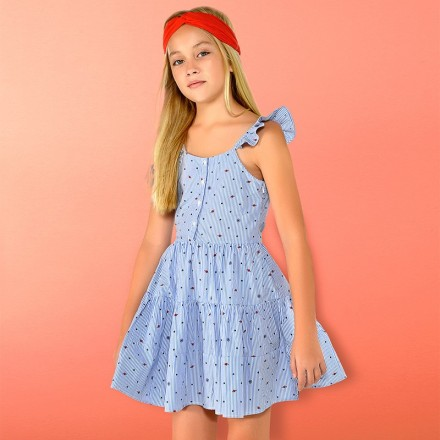 Vestido rayas Mayoral niña