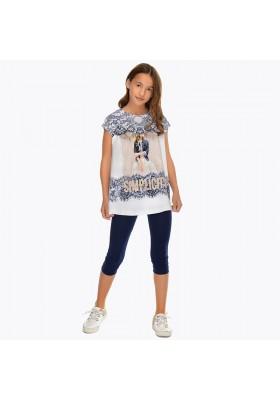 Conjunto leggings serigrafia Mayoral niña