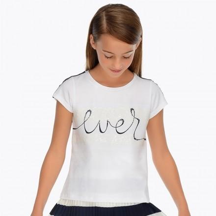 "Camiseta manga corta ""ever"" Mayoral niña"