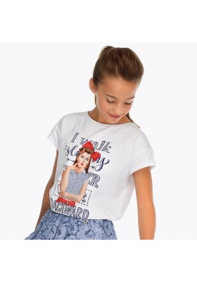 Camiseta manga corta niña Mayoral niña