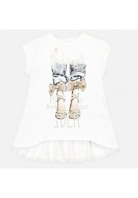 Camiseta manga corta piernas Mayoral niña