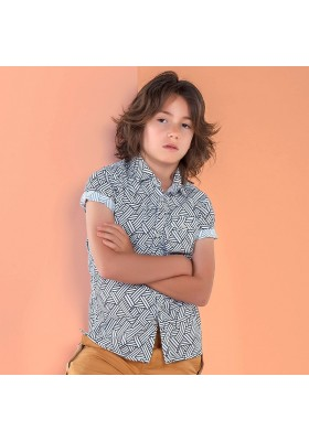 Camisa manga corta estampada Mayoral niño