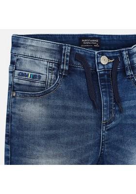 Pantalón corto soft denim Mayoral niño